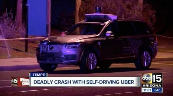 uber hits and kills arizona woman