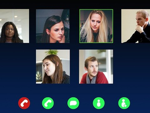How to look good in video calling apps