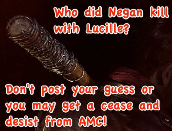 walking dead spoiler spoiling fan amc take down