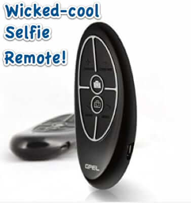 wireless bluetooth selfie remote gpel pebble